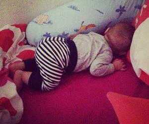 baby, mignon, and sleep image