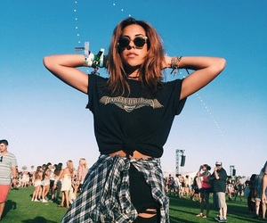 coachella, hipster, and fashion image