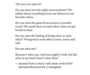 heartbreak, loss, and miss you image