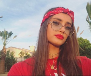 taylor hill, coachella, and red image