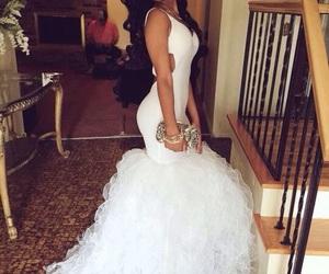 Prom, dress, and mermaid image