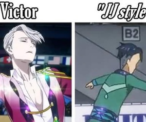 yuri on ice, anime, and funny image