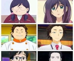 shokugeki no soma, anime, and attack on titan image