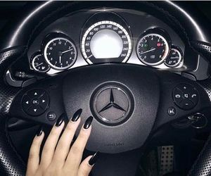 car, driving, and fashion image