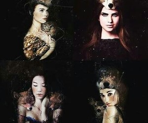 teen wolf, lydia martin, and allison argent image