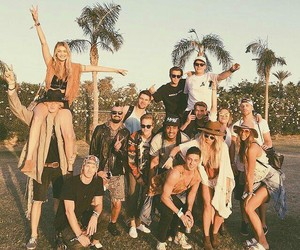coachella, cody simpson, and gigi hadid image