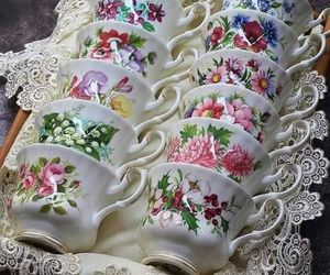 beautiful, tea party, and home image