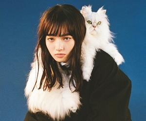 cat, model, and nana komatsu image
