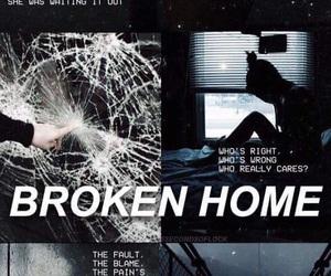 wallpaper, broken home, and 5 seconds of summer image