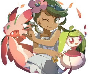 pokemon, mallow, and pokemon sun and moon image