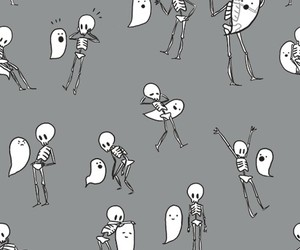 background, ghost, and Halloween image