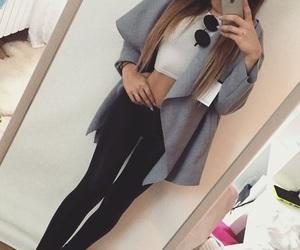 clothes, haïr, and fashion image