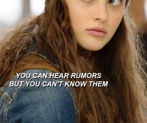 13 reasons why, quote, and series image