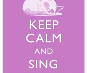 soft kitty, keep calm, and sing image