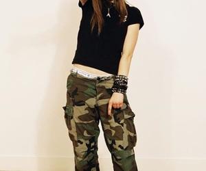 Avril Lavigne and skater girl image