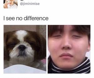 jhope, bts, and meme image