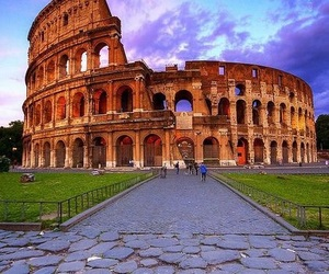 colosseum, history, and italy image