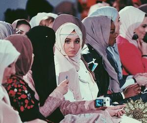 beautiful, gorgeous, and hijab image