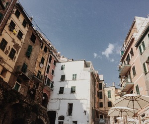 cinque terre, italy, and summer image