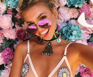 bralette, fashion, and summer image