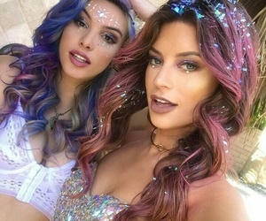 coachella, lele pons, and hair image