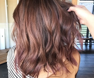 hair, haircolor, and hairstyles image