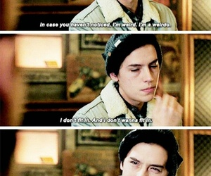 jughead jones, cole sprouse, and riverdale image