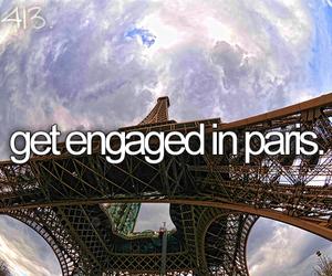 paris, before i die, and eiffel image