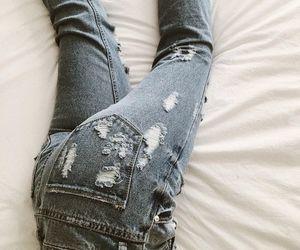 alternative, fashion, and jeans image