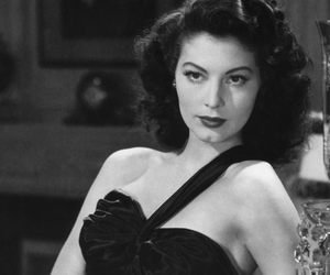ava gardner and vintage image