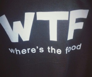 where's the food? image