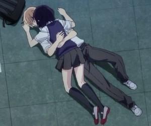 anime, kiss, and kuzu no honkai image