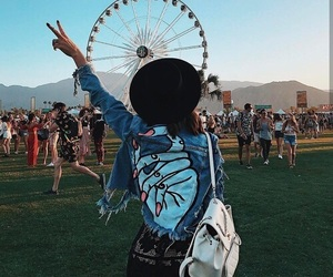 coachella, fashion, and style image