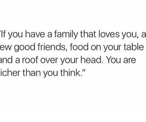 family, quotes, and thankful image