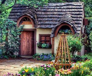 Fairies, fairy, and gardening image