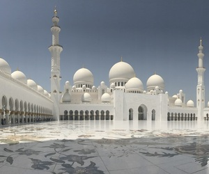 abu dhabi, mosque, and religion image