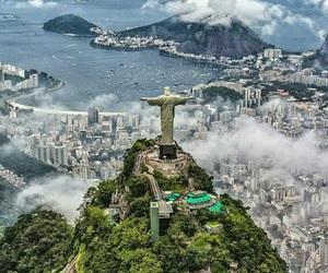 travel, rio de janeiro, and brazil image