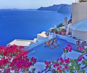 Greece, summer, and santorini image