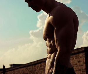 boy, Hot, and sky image