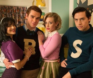 riverdale, Archie, and Betty image