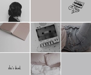 dead, girl, and thirteen reasons why image
