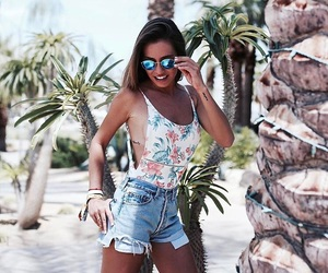 coachella, style, and sun image