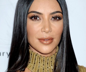 beauty, kim kardashian, and style image