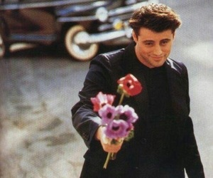 friends, Joey, and flowers image