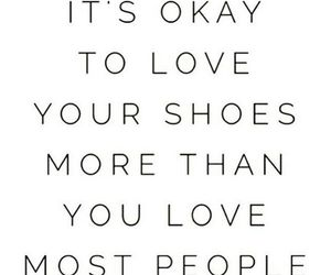 quotes, shoes, and love image