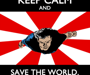 keep calm, superman, and smallville image