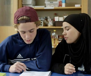 norway, school, and iman meskini image