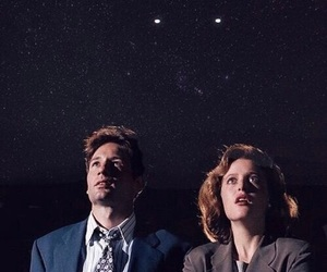 fox mulder, dana scully, and mulder image