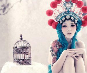 tattoo, art, and asian image