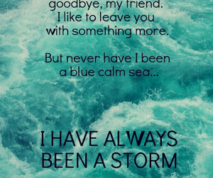 fleetwood mac, Lyrics, and storms image